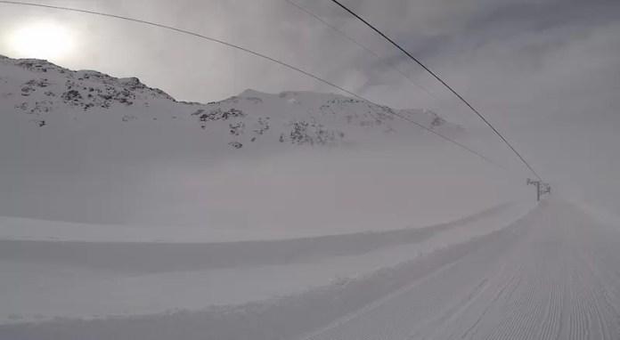 off piste skigebied