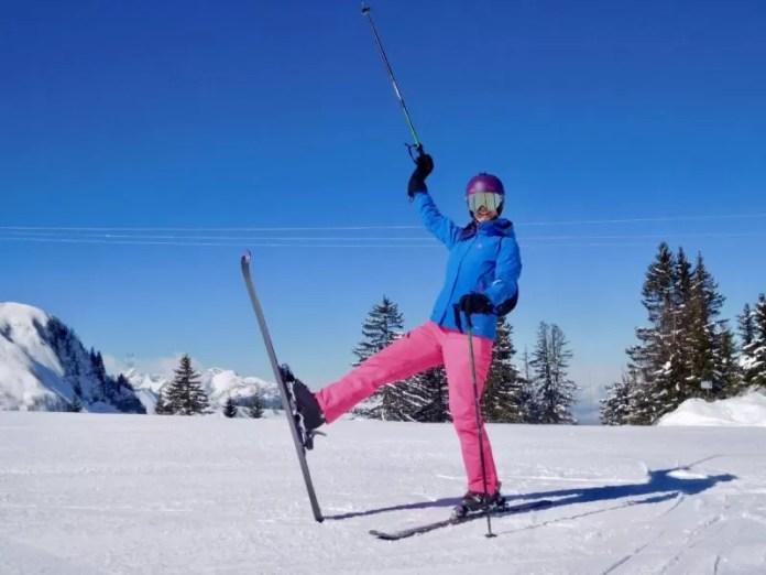 Yeah, we staan weer op de ski's!