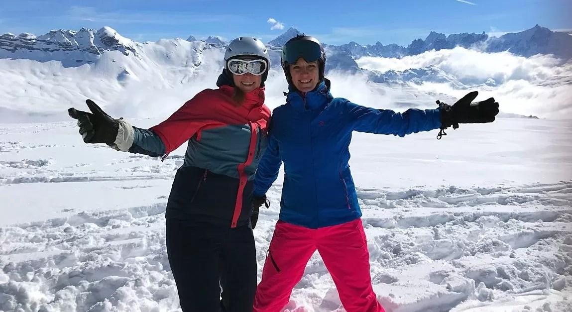 Off piste in Grand Massif