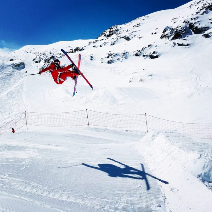 Freestyle Land is het grote freestylepark van Les 2 Alpes voor alle niveaus