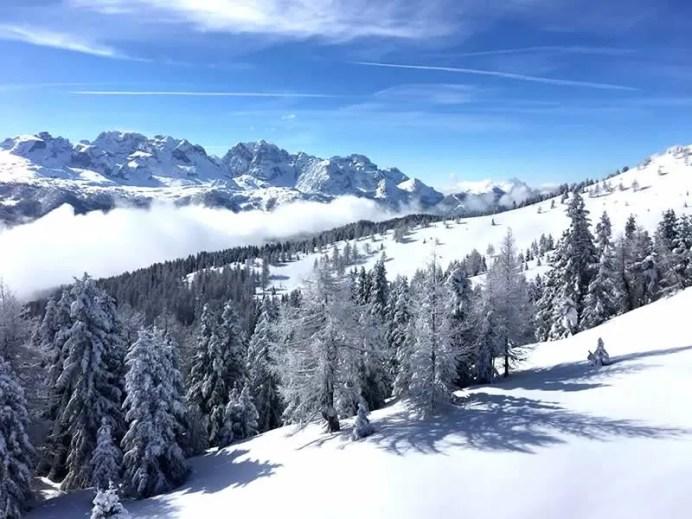 Wintersport Italië