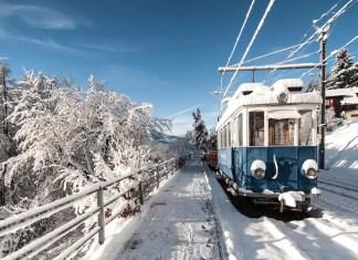 wintersporttrein