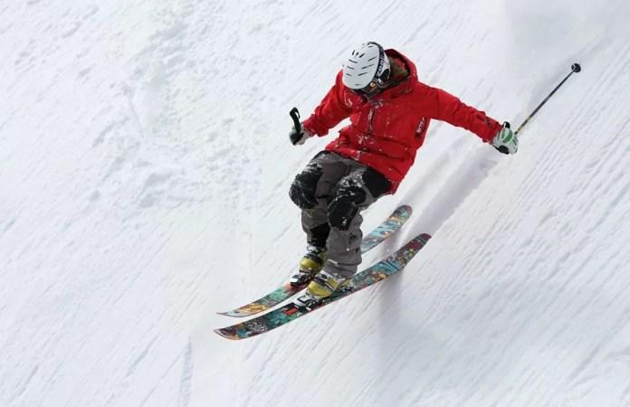 ski ongeval