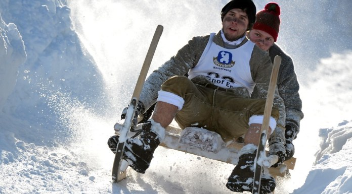 Retro Wintersporten in Duitsland - Snowrepublic