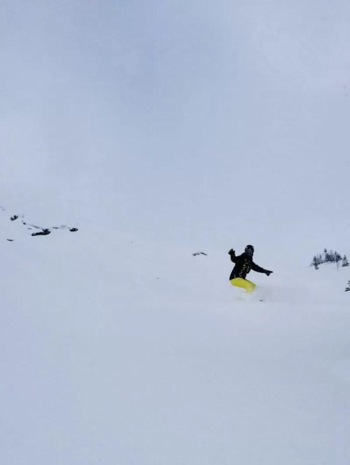 Off-piste skiën is hier met recht poederskiën!