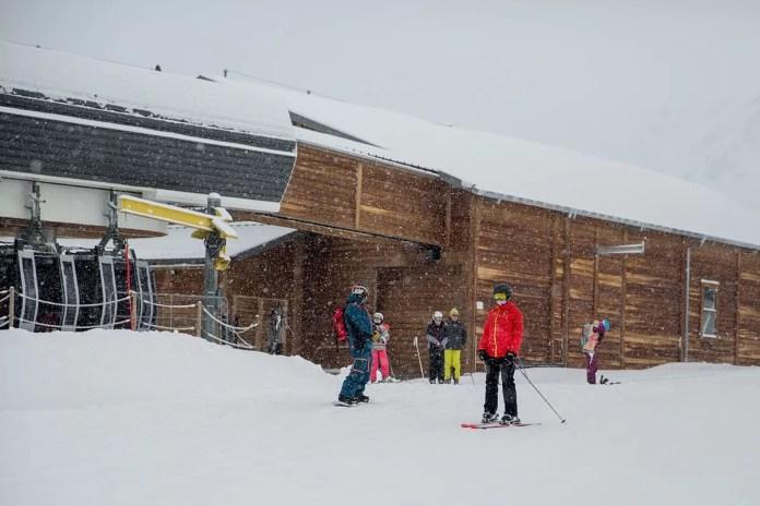 Opening Les Menuires begint met sneeuwval