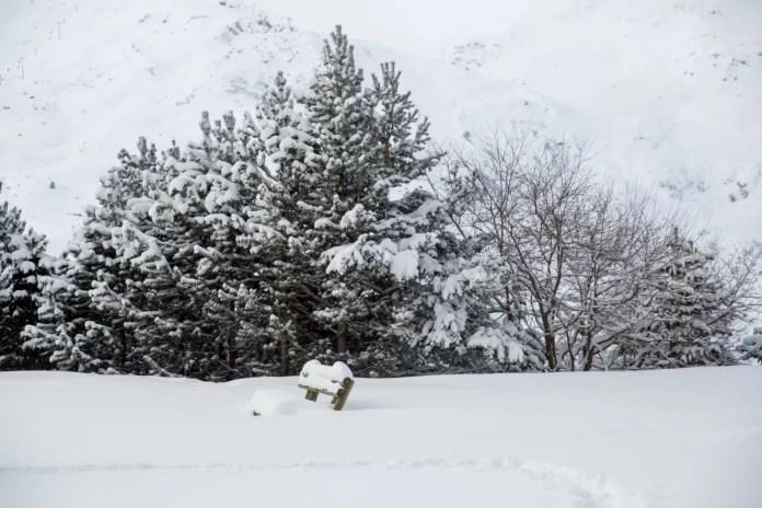 Live uit Les Menuires: sneeuw dump van 40 cm verse sneeuw