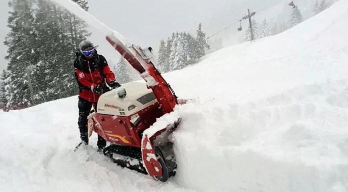 te veel sneeuw