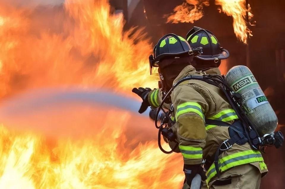 Grote brand in Courchevel