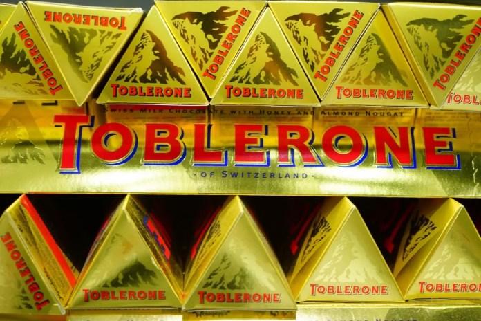 Toblerone met de Matterhorn