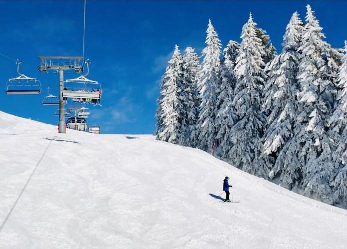 Dit is de ultieme wintersportdag: verse sneeuw, blauwe lucht en fijn geprepareerde pistes!