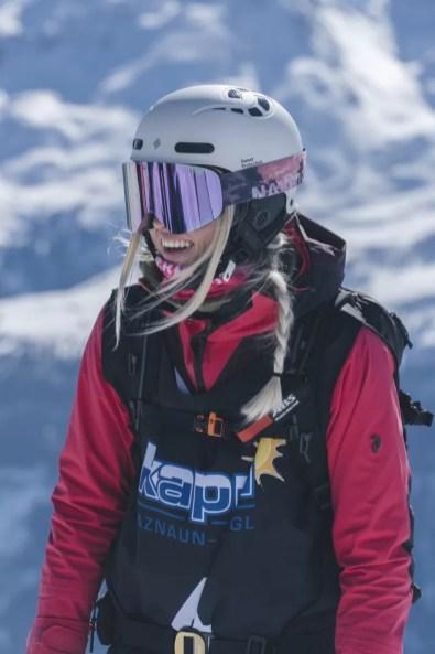 Lachende gezichten als je mag skiën bij zulk weer (Foto: Joscha Kotlan)