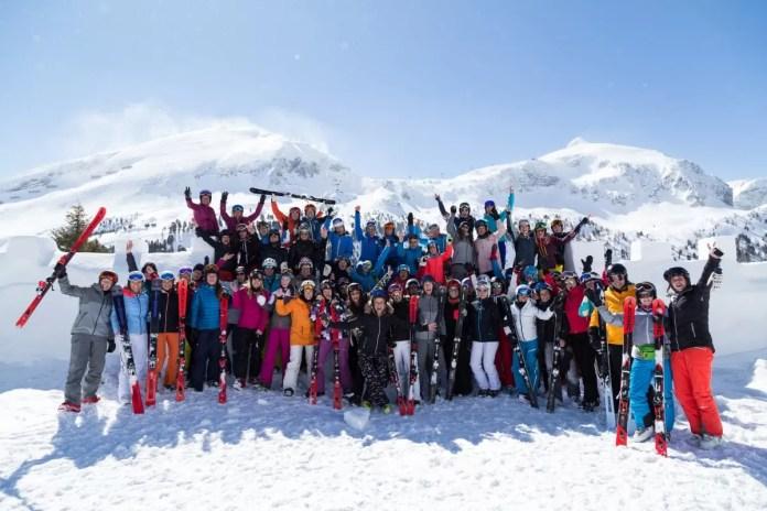 ATOMIC #sheskis, wat een happening! Foto: Obertauern.com