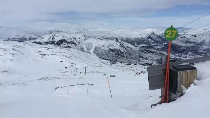 Uitzicht vanaf Totten Hemsedal Noorwegen