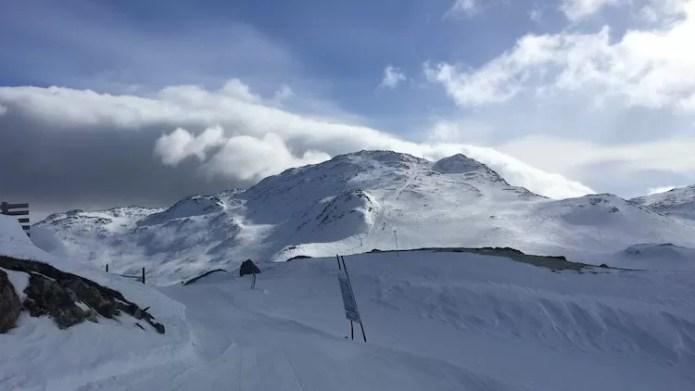 Uitzicht op Totten Hemsedal Noorwegen