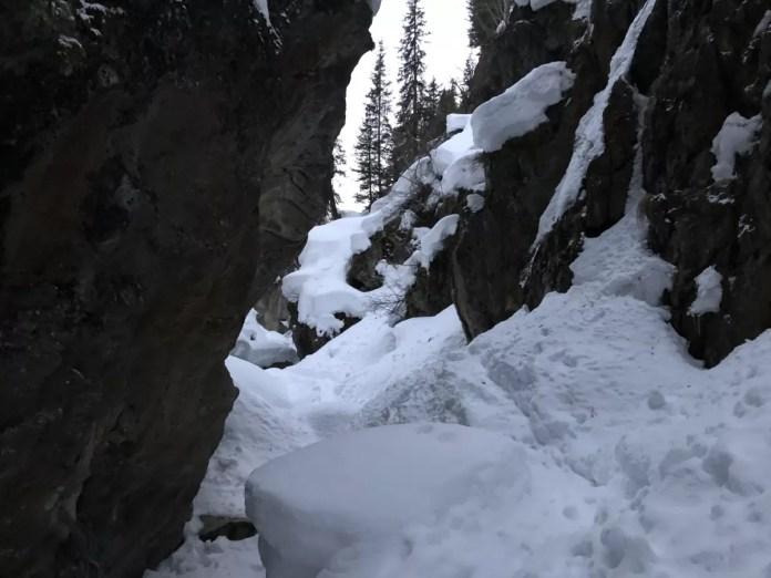 Avondwandeling door de Taschachslucht Canyon