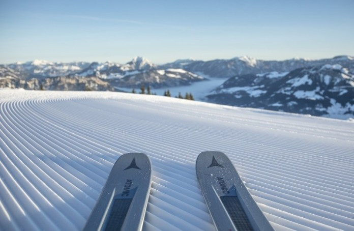 First tracks op de Harschbichl in St. Johann in Tirol © Mirja Geh / Eye 5