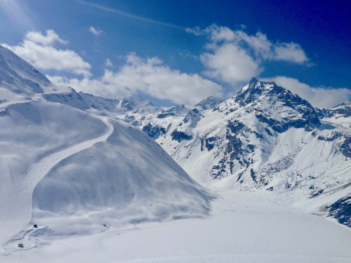 Pitztaler gletscher Foto: Maaike de Vries