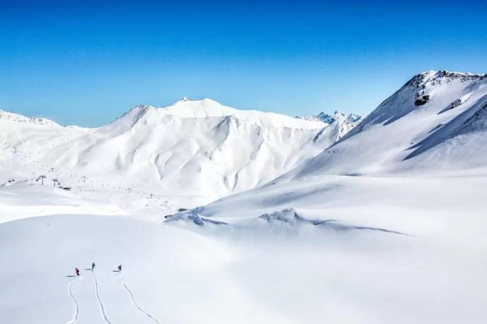 drukte wintersport