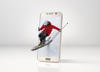 smartphone skipas