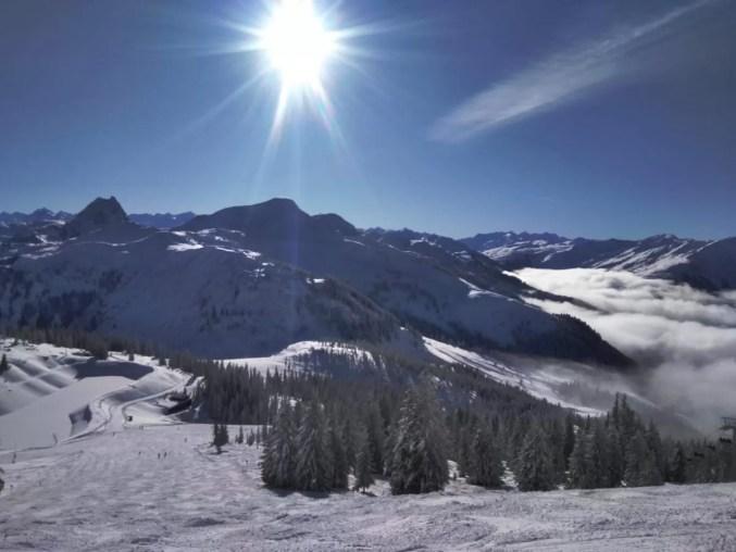 skiwelt wilderkaiser kaiserwetter