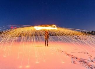 Kerst en oud en nieuw in de sneeuw. Bron Pixabay