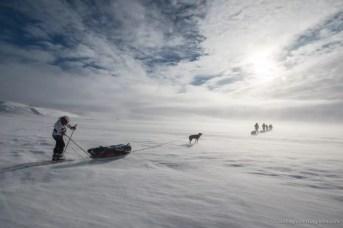 Nooit meer slapen, Finnmarkplateau Jolly Nomad 16