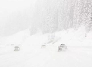 rijden met sneeuw