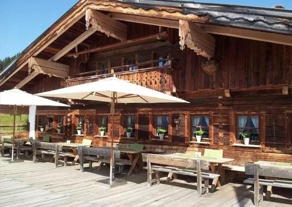 Wieseralm De beste 5 bergrestaurants van Hinterglemm