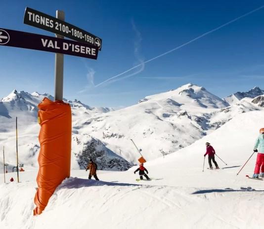 Sneeuw genoeg in Tignes