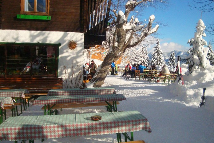 top 5 bergrestaurants Zell am See