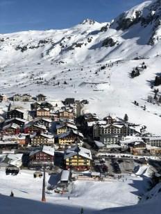Obertauern, dorp in de sneeuw. Fotocredits: Peter de Vries