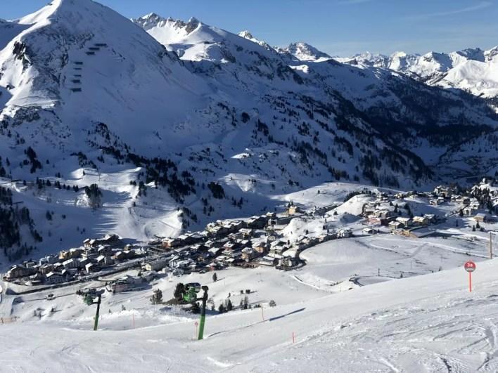 Uitzicht Obertauern. Fotocredits: Peter de Vries