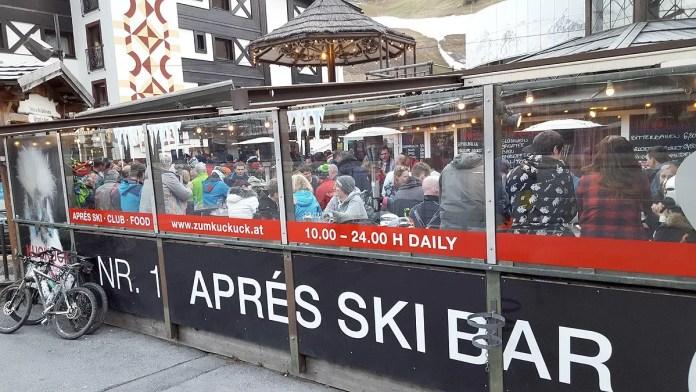 Top 5 après-ski Sölden