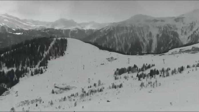 sneeuwdump in het westen