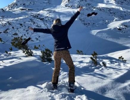 Ontspannen skiën in Galtur. Foto: Maaike de Vries
