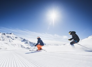Lente-skiën in Stubai