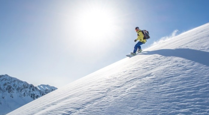 Snowboarden in het Pillerseetal. © Lackner Helmut / TVB PillerseeTal
