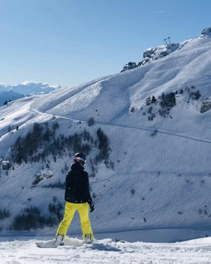 Crans-Montana heeft een onverwacht weids uitzicht. Foto: Pauline van der Waal
