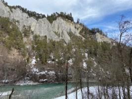 Niet voor niets noemen ze dit de Rocky Mountains van Graubunden Foto: Maaike de Vries