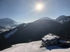 Genieten van het zonnetje op de berg. Foto: Arjan Bos