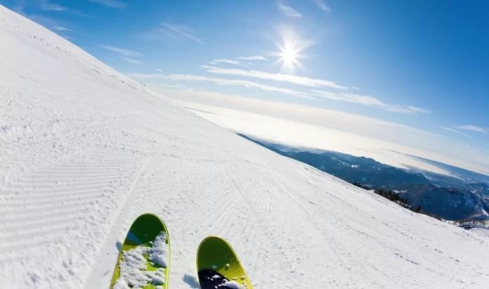 voetbal en skiën