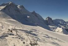 Tignes gletsjer open