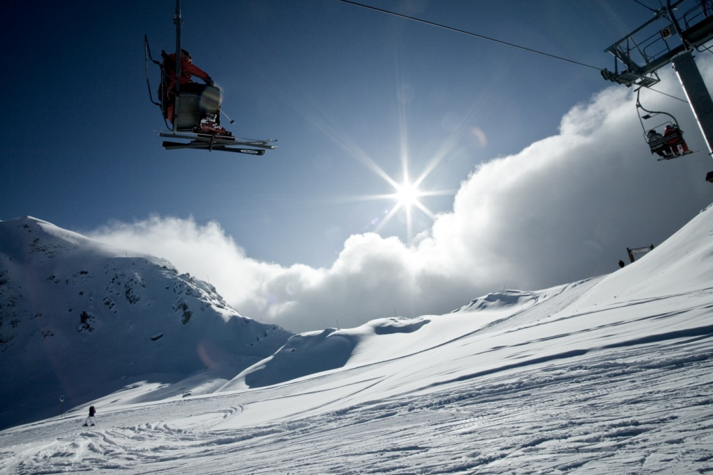 Sunshine and Chairlift for doc