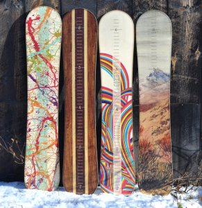 snowboard growth chart