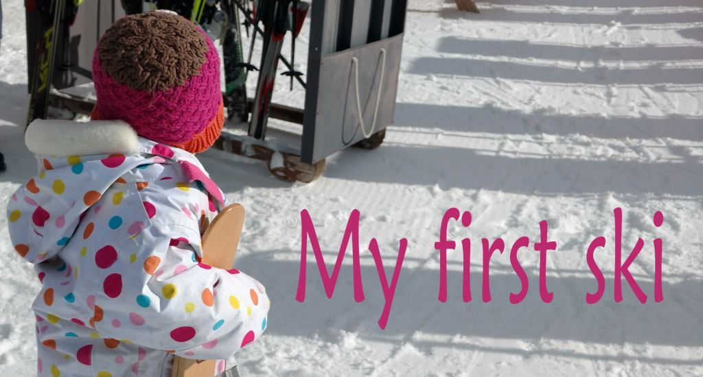Baby Snow Retreat's first ski