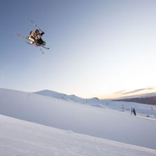 Throwing it down at Cardrona