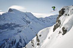 Freeride, Skifahren, Powder, Schnee, Titlis, Brunni, Jochpass