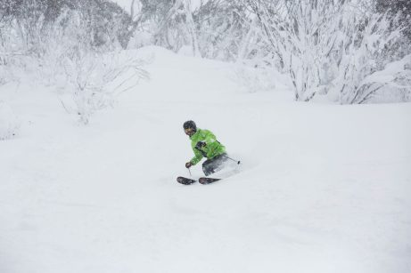Thredbo when it's on, which isn't this weekend. Pic from Thredbo Media in August 17.