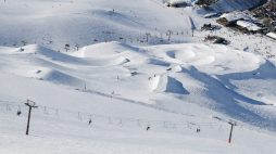 View of the jib garden at Mt Hutt